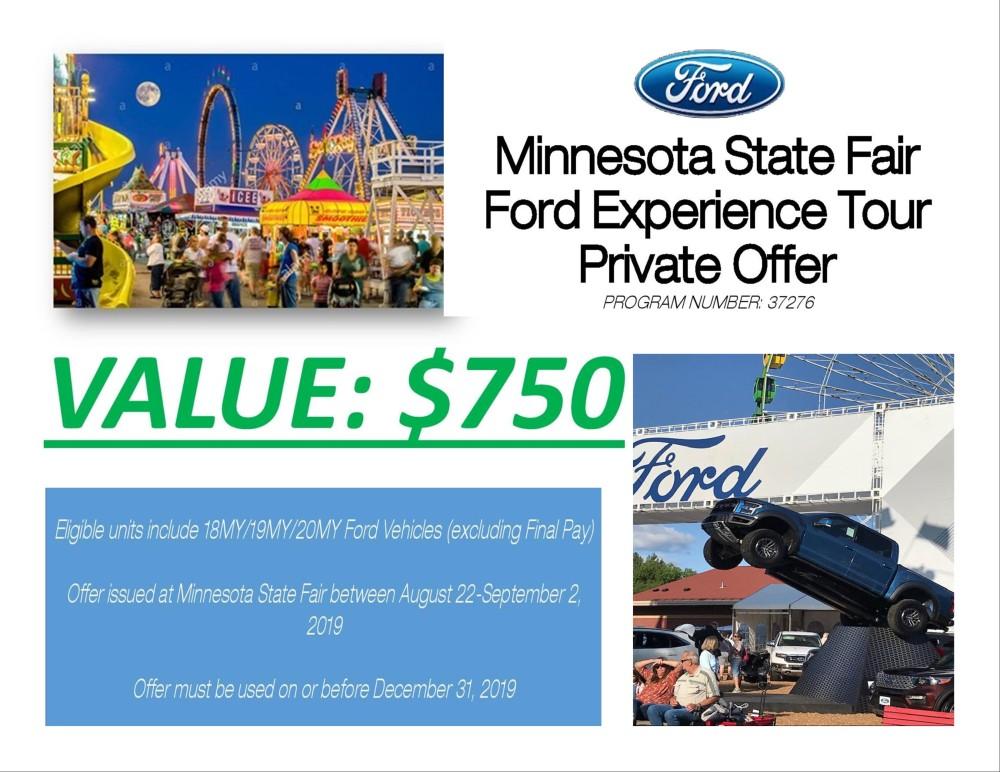 State Fair promo